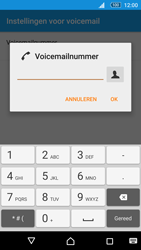 Sony Xperia M5 - Voicemail - Handmatig instellen - Stap 9