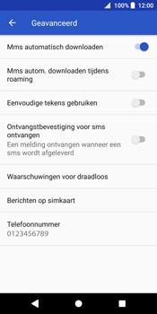 Sony Xperia XZ2 - MMS - probleem met ontvangen - Stap 8