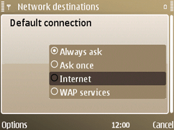 Nokia E72 - Internet - Manual configuration - Step 19