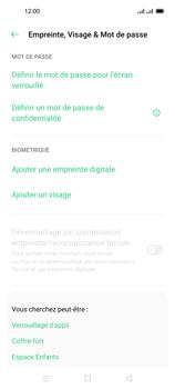 Oppo Reno 4 Pro - Sécuriser votre mobile - Activer le code de verrouillage - Étape 5
