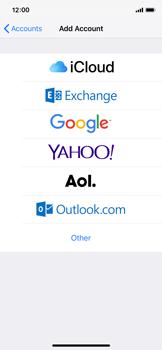 Apple iPhone X - iOS 12 - E-mail - 032b. Email wizard - Yahoo - Step 5