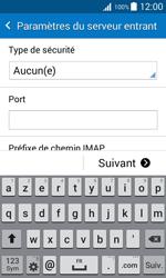 Samsung J100H Galaxy J1 - E-mail - Configuration manuelle - Étape 11