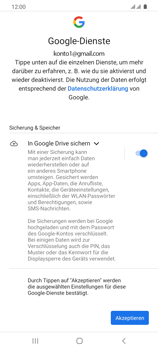 Samsung Galaxy S20 Ultra 5G - E-Mail - 032a. Email wizard - Gmail - Schritt 12