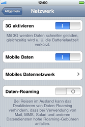 Apple iPhone 3G - Internet - Manuelle Konfiguration - Schritt 6