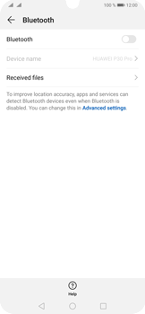 Huawei P30 Pro - Bluetooth - Connecting devices - Step 5