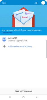 Samsung Galaxy S10 - E-mail - 032a. Email wizard - Gmail - Step 13