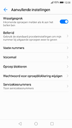Huawei P10 - Android Oreo - Voicemail - Handmatig instellen - Stap 6