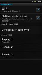 Sony LT22i Xperia P - Wifi - configuration manuelle - Étape 8