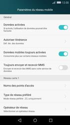 Huawei P8 Lite - Réseau - Changer mode réseau - Étape 7