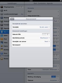 Apple iPad 2 - E-mail - e-mail instellen: POP3 - Stap 14