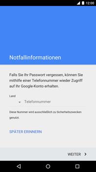 Motorola Google Nexus 6 - Apps - Konto anlegen und einrichten - 11 / 19