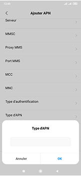 Xiaomi Mi Mix 3 5G - MMS - Configuration manuelle - Étape 12