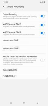 Samsung Galaxy S20 Ultra 5G - Internet und Datenroaming - Deaktivieren von Datenroaming - Schritt 6
