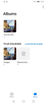 Huawei Y6P - Photos, vidéos, musique - Envoyer une photo via Bluetooth - Étape 5
