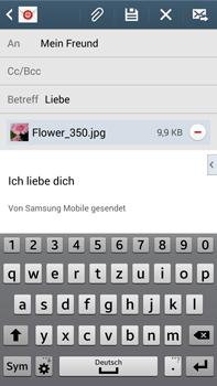 Samsung Galaxy Note 3 LTE - E-Mail - E-Mail versenden - 18 / 20