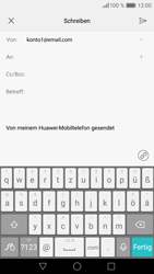 Huawei P9 - E-Mail - E-Mail versenden - 1 / 1