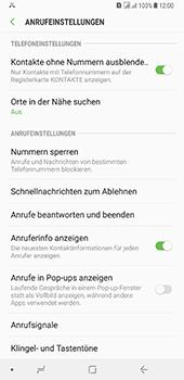 Samsung Galaxy A8 Plus (2018) - Anrufe - Anrufe blockieren - Schritt 6