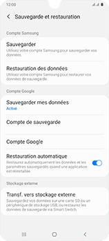 Samsung Galaxy A41 - Aller plus loin - Gérer vos données depuis le portable - Étape 12