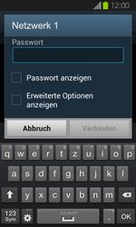 Samsung Galaxy Express - WiFi - WiFi-Konfiguration - Schritt 7