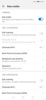 Huawei P30 Pro - Rete - Come attivare la connessione di rete 4G - Fase 5