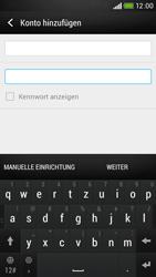HTC Desire 601 - E-Mail - Konto einrichten - 0 / 0