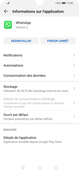 Huawei P Smart 2020 - Applications - Supprimer une application - Étape 6