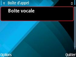 Nokia E71 - Messagerie vocale - configuration manuelle - Étape 6