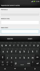 HTC One Max - E-mail - configurazione manuale - Fase 8