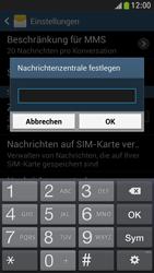 Samsung I9195 Galaxy S4 Mini LTE - SMS - Manuelle Konfiguration - Schritt 7