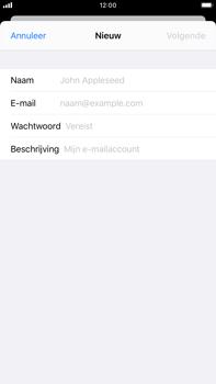 Apple iPhone 7 Plus - iOS 13 - E-mail - e-mail instellen: IMAP (aanbevolen) - Stap 7