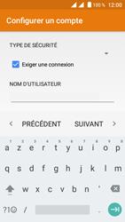 Crosscall Trekker M1 Core - E-mails - Ajouter ou modifier un compte e-mail - Étape 15