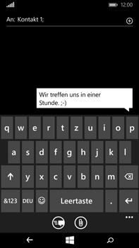 Microsoft Lumia 640 XL - MMS - Erstellen und senden - Schritt 10
