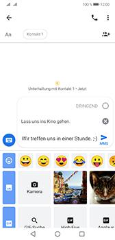 Huawei Mate 20 - MMS - Erstellen und senden - 14 / 22