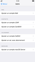 Apple iPhone 6s iOS 11 - E-mail - configuration manuelle - Étape 6