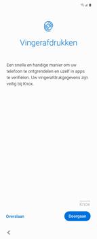 Samsung Galaxy Z Flip Single-SIM + eSIM (SM-F700F) - Instellingen aanpassen - Nieuw toestel instellen - Stap 18