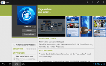 Asus Padfone 2 - Apps - Herunterladen - 12 / 27