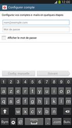 Samsung I9205 Galaxy Mega 6-3 LTE - E-mail - Configuration manuelle - Étape 5
