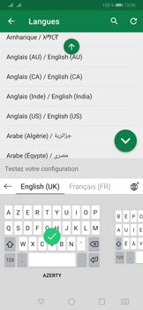 Huawei P30 - Prise en main - Comment ajouter une langue de clavier - Étape 10