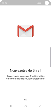 Samsung Galaxy S10 - E-mail - 032a. Email wizard - Gmail - Étape 5