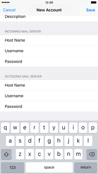 Apple iPhone 6s Plus - E-mail - Manual configuration POP3 with SMTP verification - Step 15