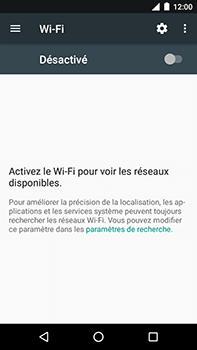 Motorola Moto E4 Plus - Internet et connexion - Accéder au réseau Wi-Fi - Étape 5
