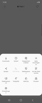 Samsung Galaxy Z flip - Internet und Datenroaming - Manuelle Konfiguration - Schritt 24