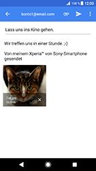 Sony Xperia XZ1 Compact - E-Mail - E-Mail versenden - 16 / 18