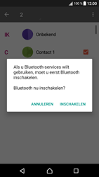 Sony Xperia XA1 (G3121) - Contacten en data - Contacten overzetten via Bluetooth - Stap 10