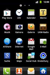 Samsung Galaxy Ace - Anrufe - Rufumleitungen setzen und löschen - 3 / 9