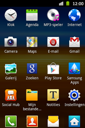 Samsung S6500D Galaxy Mini 2 - wifi - handmatig instellen - stap 3