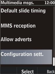 Nokia C2-05 - MMS - Automatic configuration - Step 10