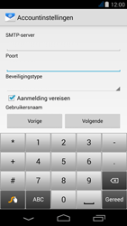 Acer Liquid Jade - E-mail - Handmatig instellen - Stap 13