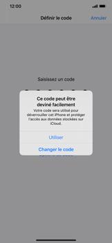 Apple iPhone 11 Pro Max - Sécuriser votre mobile - Activer le code de verrouillage - Étape 6