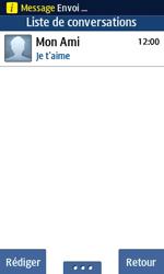 Samsung Wave 723 - Contact, Appels, SMS/MMS - Envoyer un SMS - Étape 11